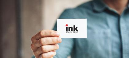הזמנת והדפסת כרטיסי הביקור של INK