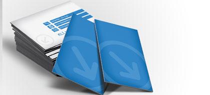 עיצוב כרטיסי ביקור באתר
