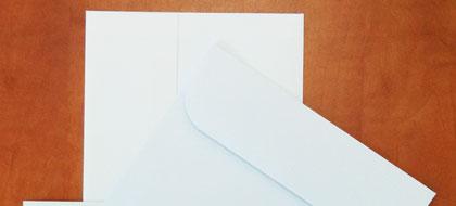 מעטפות רגילות לבנות