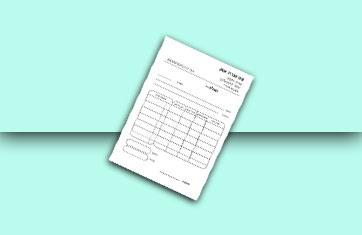 פנקסי חשבונית מס קבלה 10X15